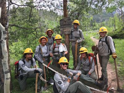 Rocky Mountain Conservancy Celebrates 2019 Conservation Corps Season