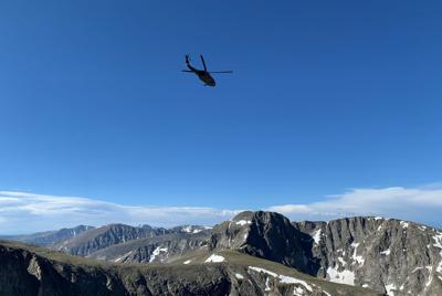 Incident On McHenry Peak In Rocky Mountain National Park