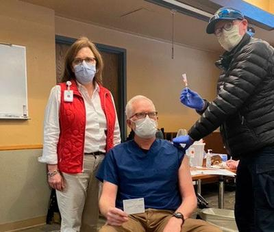 Covid-19 Vaccines To Frontline Providers At Estes Park Health