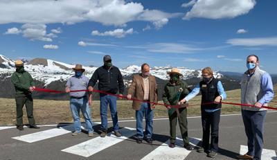Ribbon Cutting Celebrates Opening of Trail Ridge Road
