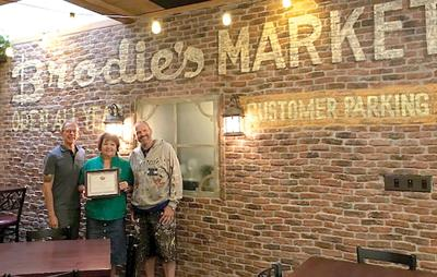 Poppy's Pizza & Grill Recognized As Estes Bright Spot For Its Brodie Wall