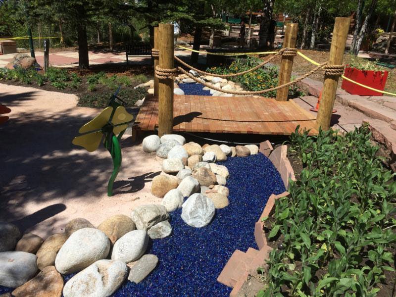Sensory Garden at George Hix Riverside Plaza