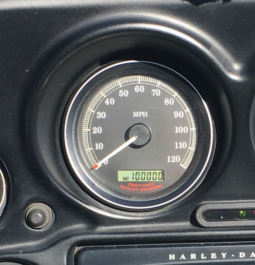 100,000 Miles On A Harley!