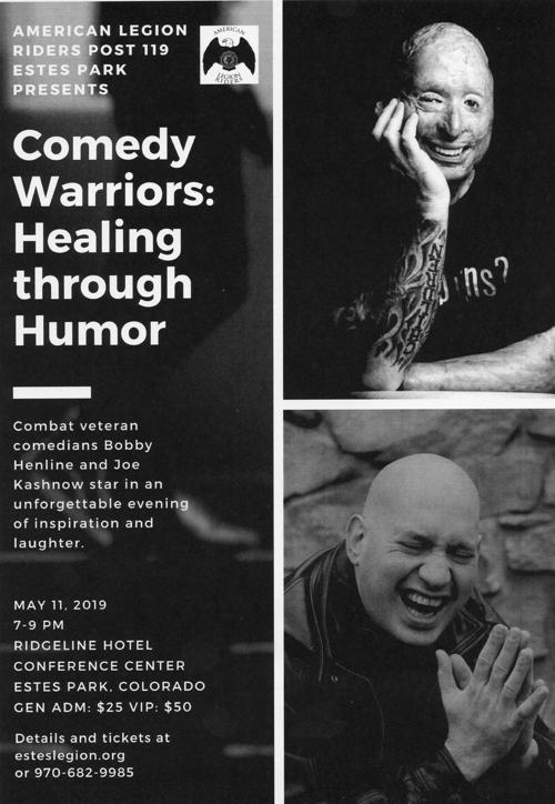 Comedy Warriors Healing Through Humor | Events
