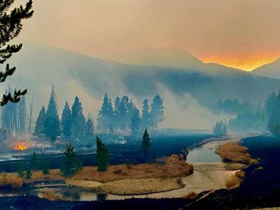 East Troublesome Fire RMNP