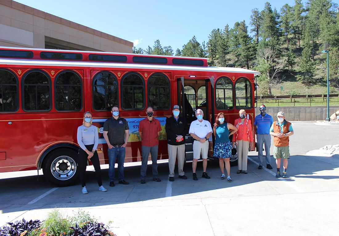 Town's First Electric Trolley