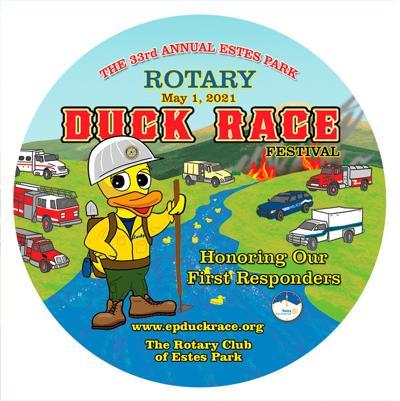 Duck Race 2021 Button