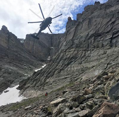 Rescue, Longs Peak, Rocky Mountain National Park