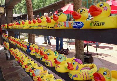Estes Park Duck Race