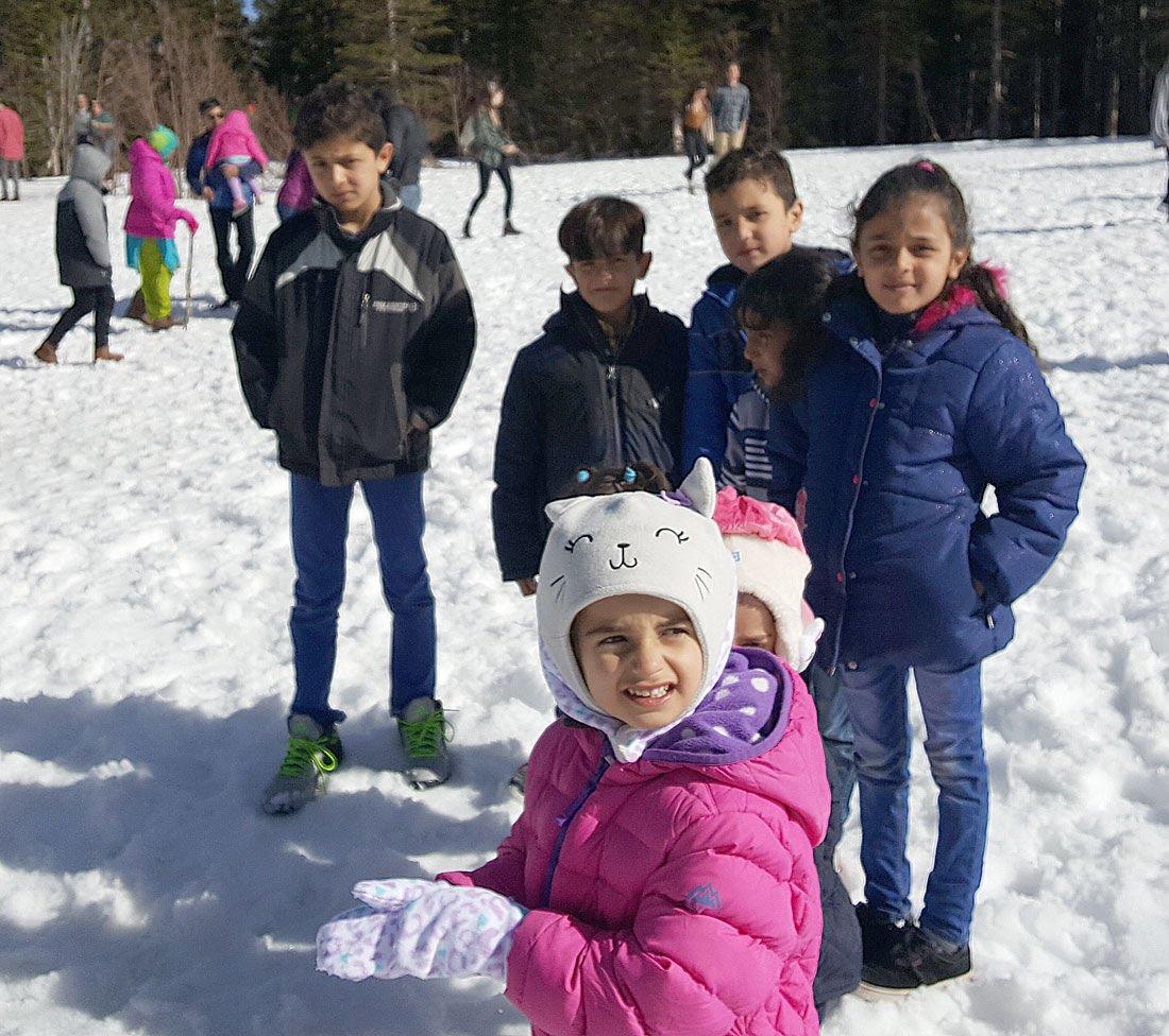 Syrian Refugees Find Respite