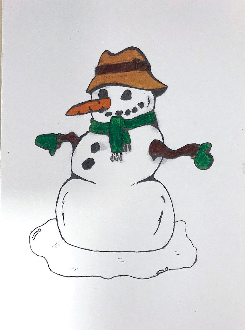EPMS Student-Created Christmas Cards