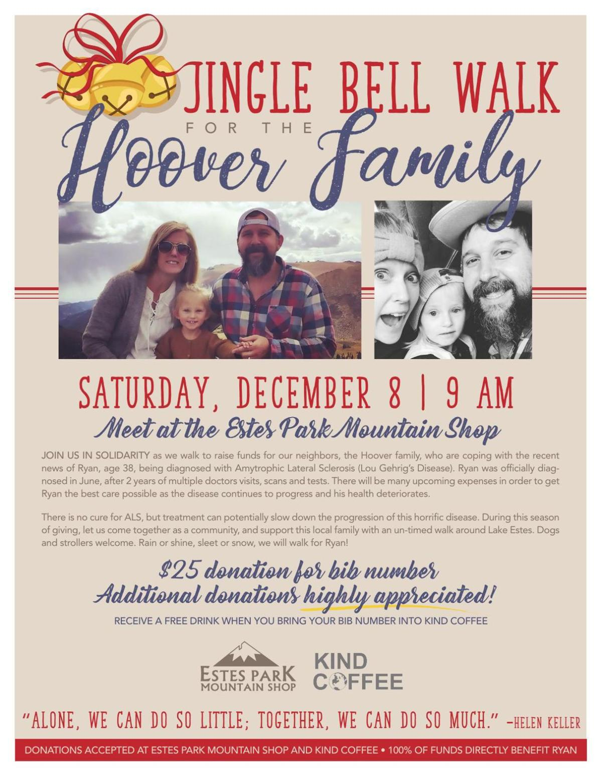 Jingle Bell Walk For The Hoover Family