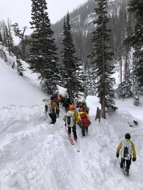 RMNP Search and Rescue Team Members February 9 Descending toward Dream Lake Courtesy Rocky Mountain National Park.jpg