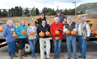 Pumpkin Give-Away At Estes Park Elementary School