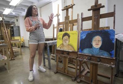 Student art showcased at Albrecht-Kemper museum