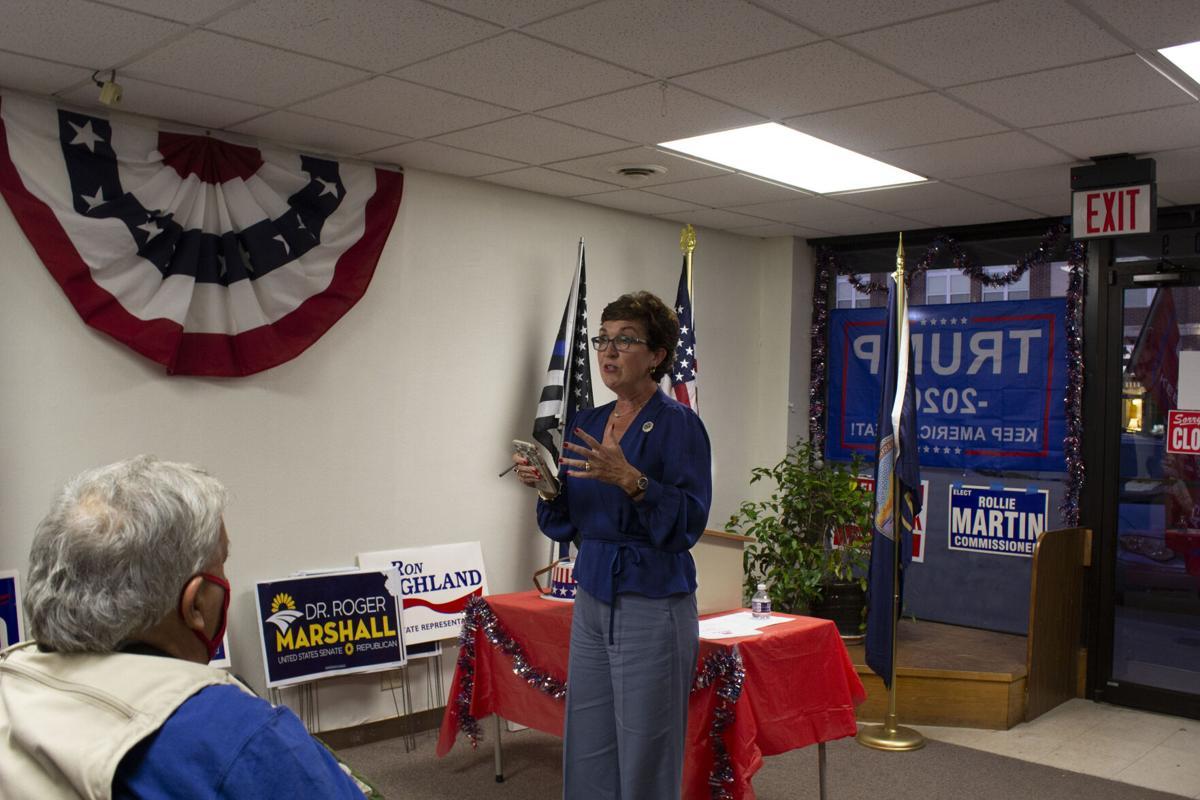 Borchers speaks to Lyon County GOP