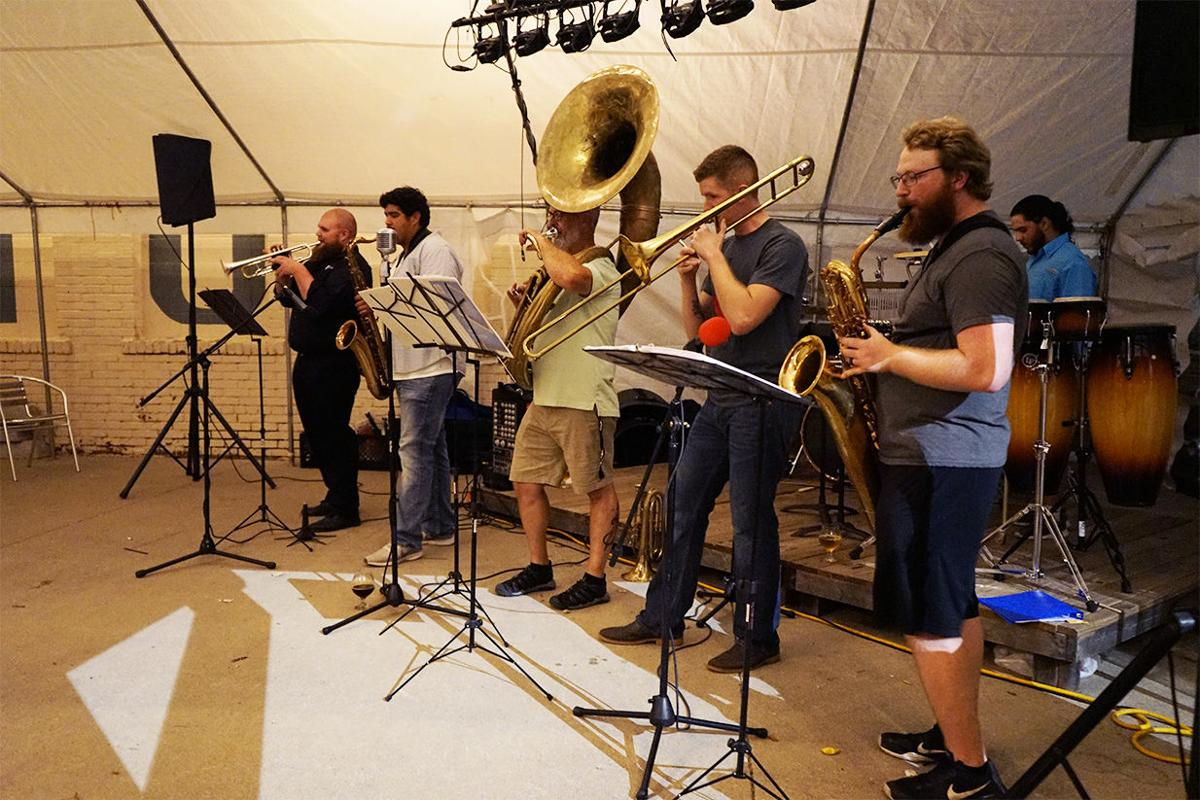 From recitals to bar gigs, Tarnished Brass plays across Emporia