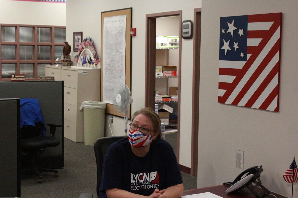 Megan Flack awaits polling results
