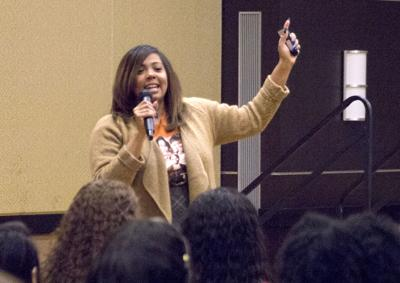 "Women's History Month speaker: ""Let's be authentic"""