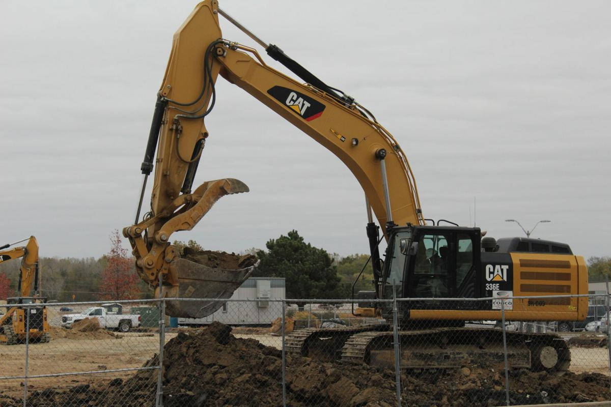 Construction begins on new Kossover Tennis Complex