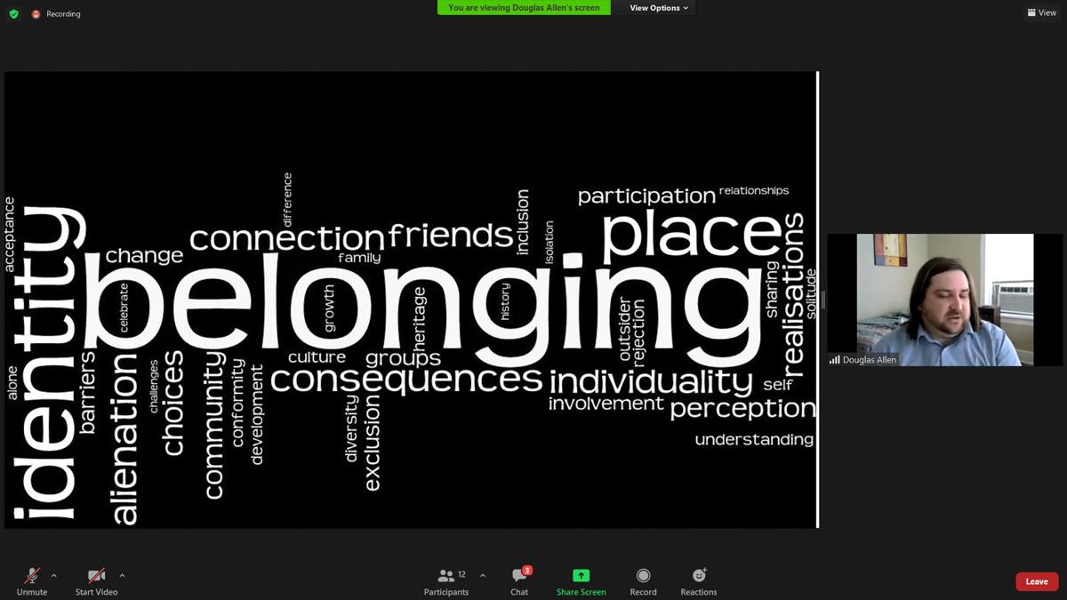 Belonging Word Bubble