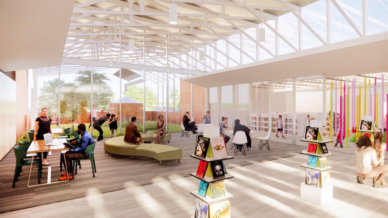 Library rendering 2