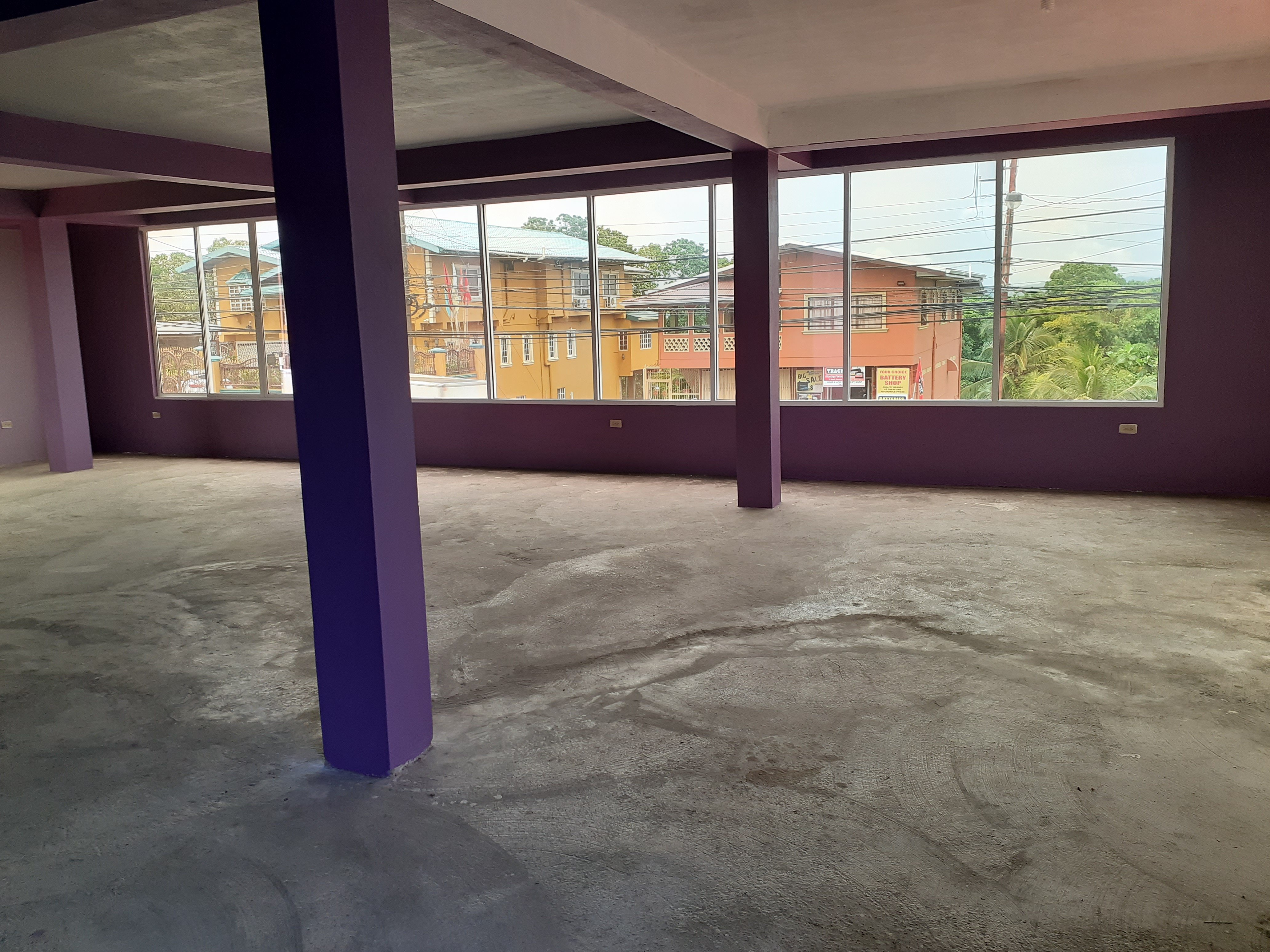 UPPER LEVEL commercial floor, 2000 sqft Naparima Mayaro