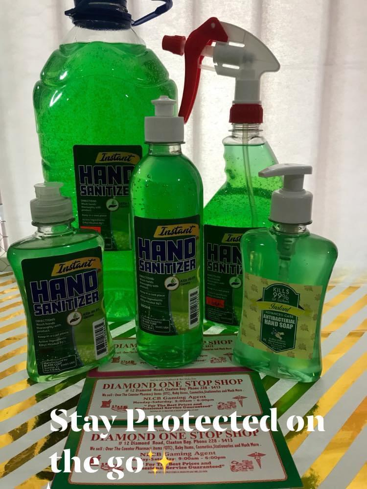 INSTANT HAND SANITIZER Now Available 250ml / 500ml /1 liter