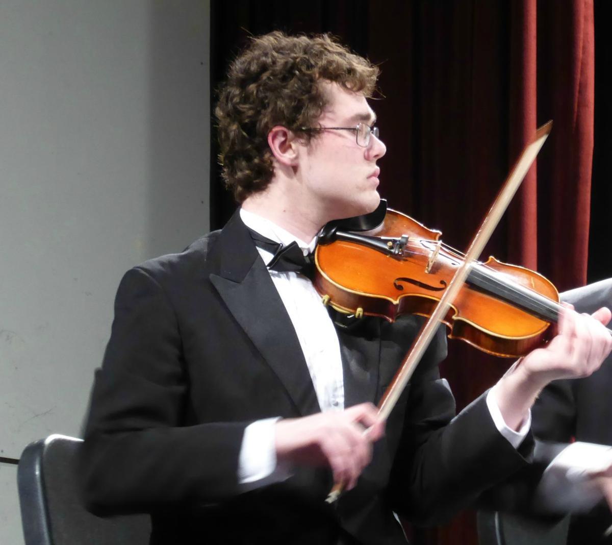 Photo #2--Jonathan Petrini's winning musical  composition was written for string quartet..jpg