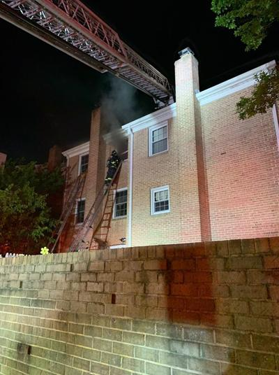 Resident Seriously Injured in Annandale Townhouse Fire