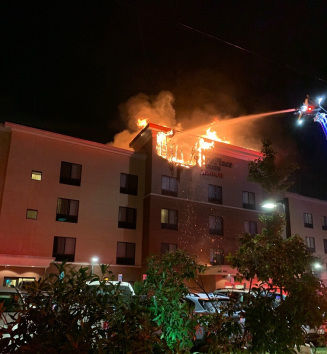 Lightning Strike Cause Of Mount Vernon Hotel Fire