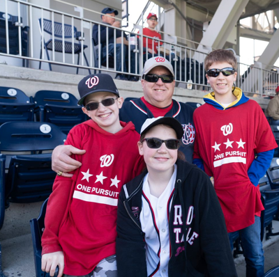 PenFed reopens free seats for military at Washington Nationals games