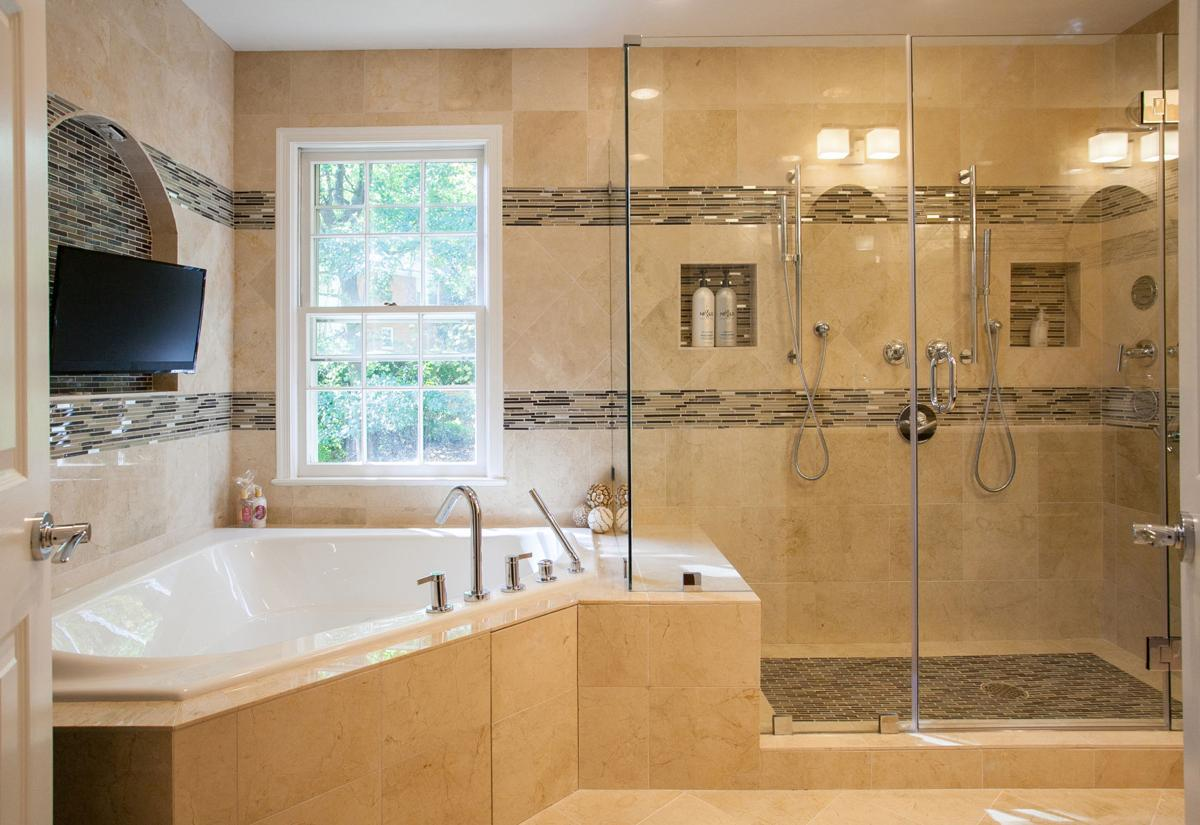 Small master bath; full luxury treatment | Articles | fairfaxtimes.com