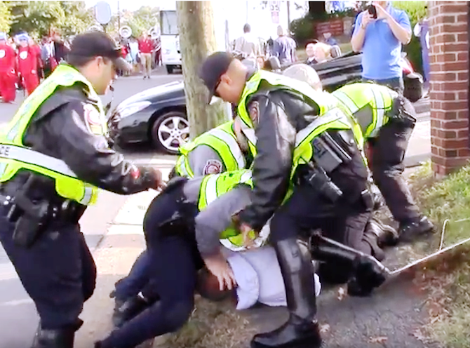 Fairfax County police arrest reporter at Annandale parade ...