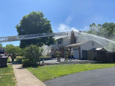 Centreville House Fire Displaces Two