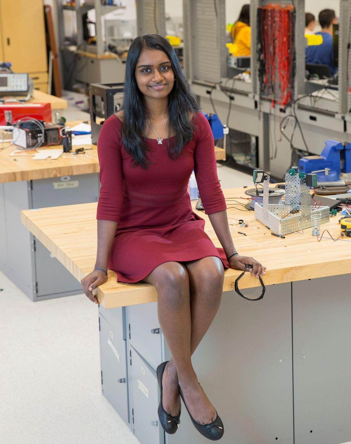 TJ graduate earns Davidson scholarship for brain cancer research