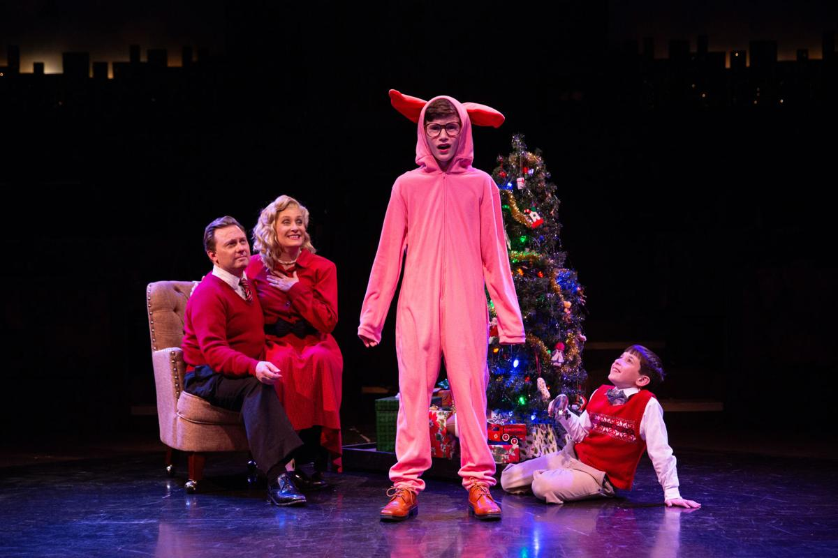 John Poncy as Ralphie with The Parker family.jpg