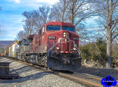 Allen Pearson Photography - Canadian Pacific Locomotive with Manifest, Haymarket, VA.JPG