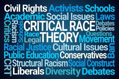 Critical Race Theory Word Cloud