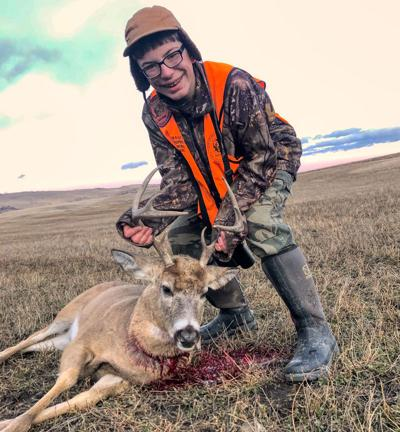 Loren Lane Gets His First Deer