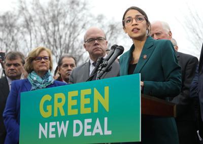The Green New Deal Presser