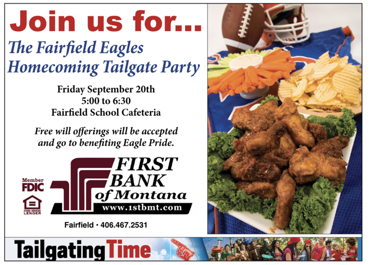 2019 Homecoming Tailgate Party
