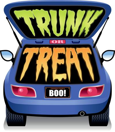 Trunk or Treat Stock Image