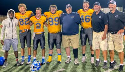 Meyer scores twice as East holds off West at Shrine Game