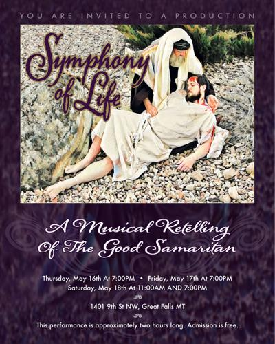 Symphony of Life—A Musical Retelling of the Good Samaritan poster