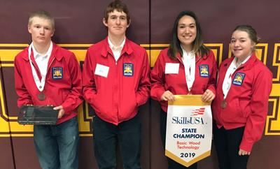 Augusta SkillsUSA Compete At State Convention In Havre