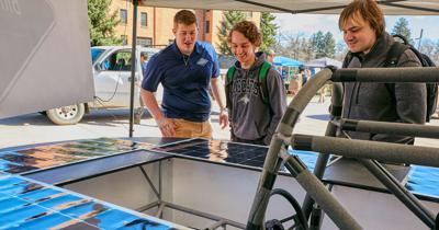 Bridger Solar Car Club Showcase Vehicle