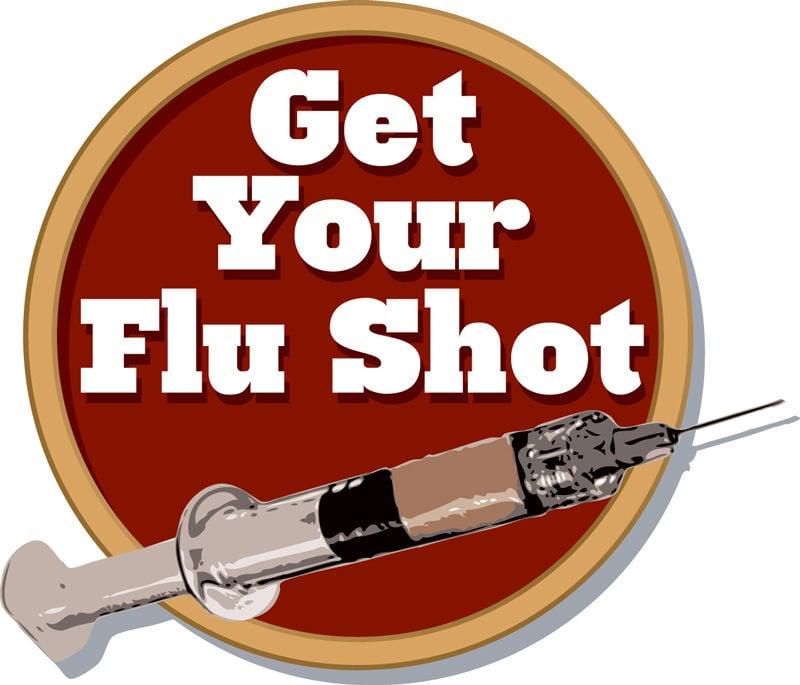Flu Shot Stock Image
