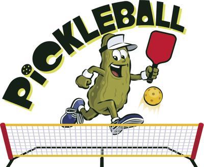 Pickleball Stock Image
