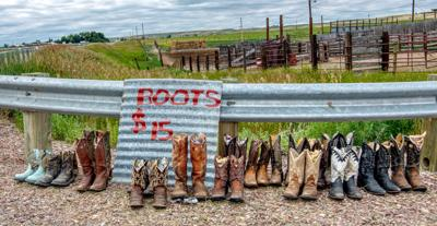 Boots for sale at 2018 cutting horse competition